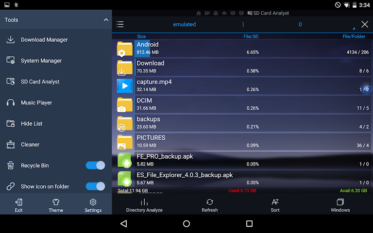 android ES File Explorer/Manager PRO Screenshot 16