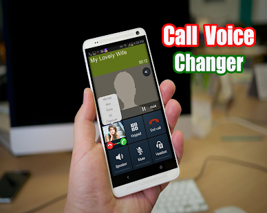 Call Voice Changer 2018 - náhled