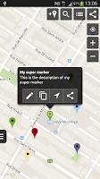 Screenshot of Map Marker