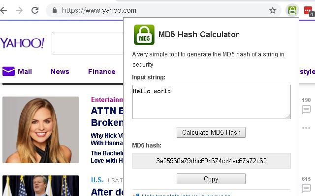 MD5 Hash Calculator