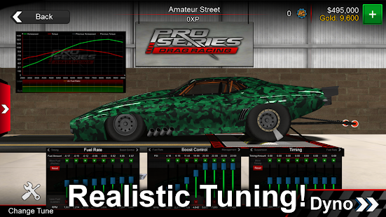 Pro Series Drag Racing- screenshot thumbnail