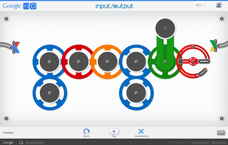 Photo: We love the way this Google logo animates. http://goo.gl/umi6u
