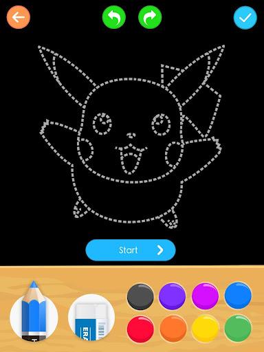 Draw Glow Cartoon - How to draw 1.0.9 screenshots 15