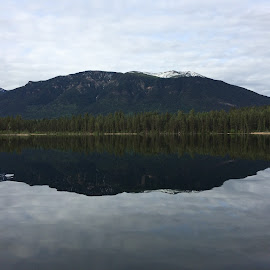 Lake Lillian by Danny Osborne - Instagram & Mobile iPhone ( mountains, canada, peace, britishcolumbia, lakes )