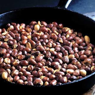Skillet Roasted Peanuts