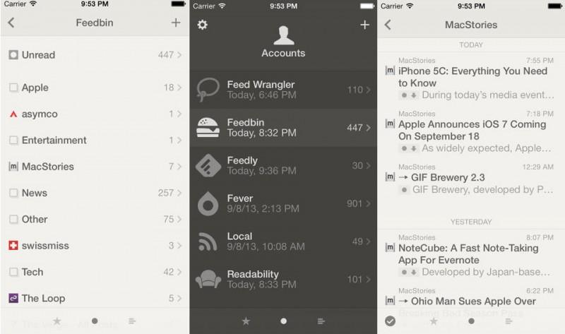 Redesigned RSS Feed Viewer 'Reeder 2' Launches for iOS Devices