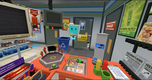 Job simulator - screenshot