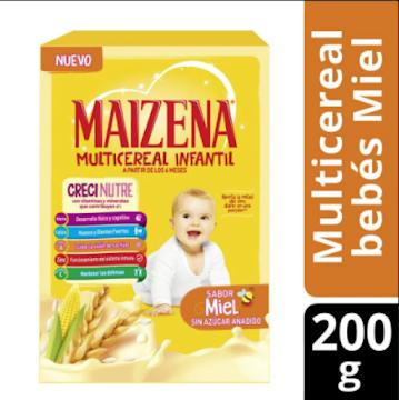 //Fécula Maíz MAIZENA   Original Vitaminas Minerales x380g