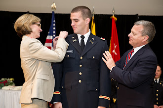 Photo: 2LT Tom Tandler, one of three Army siblings (and soon to be four in 2012).
