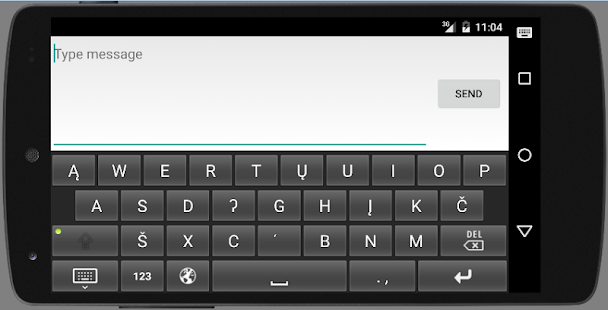 Arikara Keyboard - Mobile- screenshot thumbnail