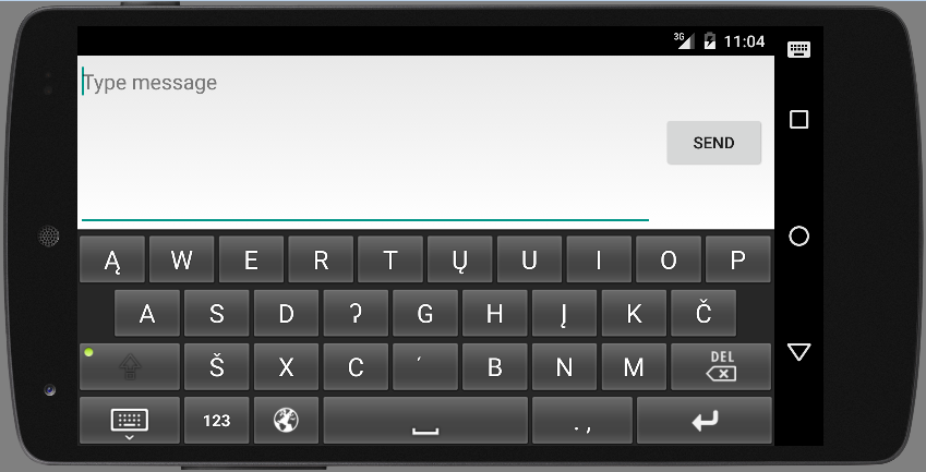 Arikara Keyboard - Mobile- screenshot