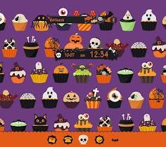 Halloween Cupcakes  Theme - screenshot thumbnail 01