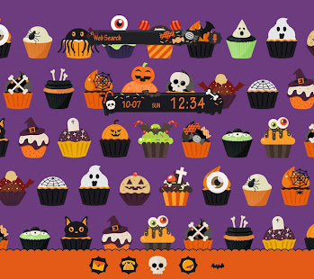 Download Halloween Cupcakes  Theme Free