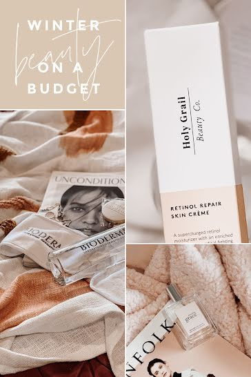 Winter Budget Beauty - Pinterest Pin Template