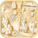Diamond Shiny Flower Launcher Theme 🏵️🌸 icon