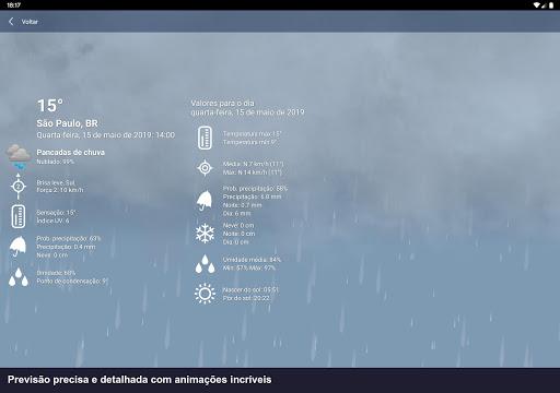 Tempo Brasil Clima XL PRO - previsão 10 dias screenshot 11