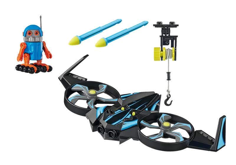 Contenido de Playmobil® 70071 Robotitron con Dron