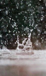 Raindrop Wallpaper - náhled