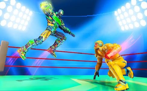 Futuristic Robot Ring Fighting 2020 4