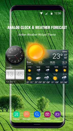 Weather Forecast with Analog Clock  screenshots 3