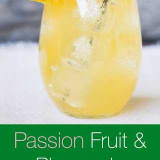 Passion Fruit and Pineapple Sangria.