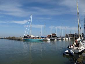 Photo: The harbor at Marken
