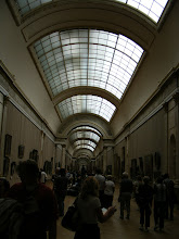Photo: One of the large barrel-vaulted rooms on the way to the Mona Lisa.