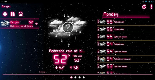 Weather Neon  screenshots 9