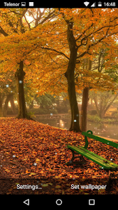 Autumn Forest Live Wallpaper screenshot 3