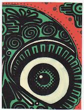 Photo: Wenchkin's Mail Art 366 - Day 222 - Card 222a