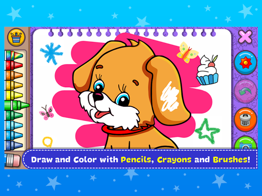 Coloring & Learn Animals - Kids Games screenshots 9