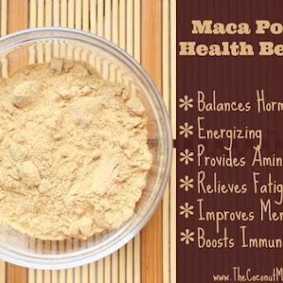 Hormone Balancing Maca Powder Smoothie.