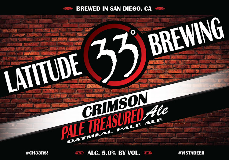 Logo of Latitude 33 Crimson Pale Treasured Ale