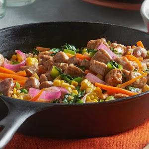 Spicy-Sweet Pork Stir Fry