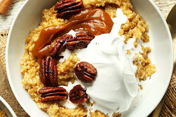 Pumpkin Pie Oats
