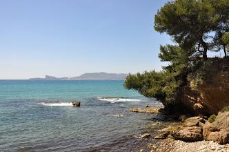 Photo: Sur le sentier littoral entre Saint-Cyr et Bandol