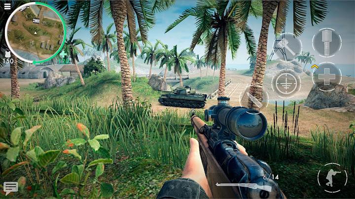 World War Heroes: WW2 FPS Android App Screenshot