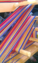 Photo: -- another view of the warp #cardweaving