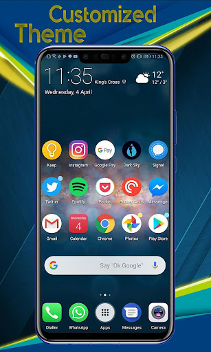 Theme for Huawei Nova 3 - Nova 3i launcher 5.1 screenshots 4