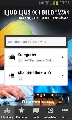 Karta Stockholmsmassan.Download Ljud Ljus Och Bildmassan Google Play Softwares