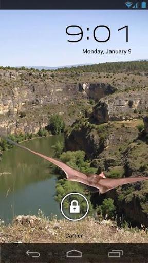 Dino Pterodactyl Canyon LWP