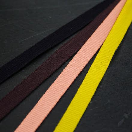 Ripsband 8mm - flera färger