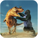 Gorilla Battle: Dinosaur World Survival 1.0