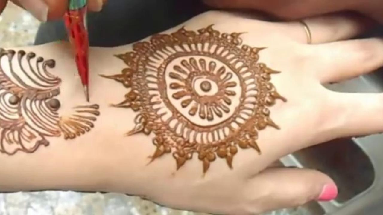 Mehndi design 2017 ki - Gol Circle Mehndi Designs 2017 Screenshot