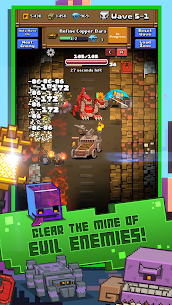 Idle Mine RPG MOD APK [Unlimited Diamonds + Mod Menu] 3