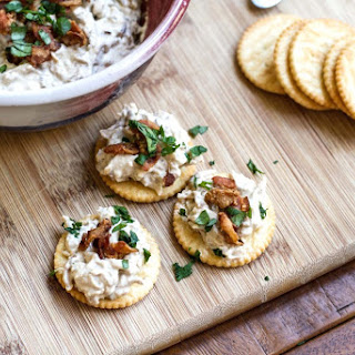 Onion, Bacon & Roasted Garlic Dip