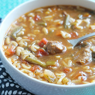 ABC Vegetable Beef Soup.