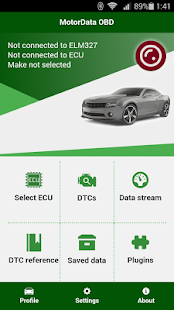 App MotorData OBD Car Diagnostics. ELM OBD2 scanner APK for Windows Phone