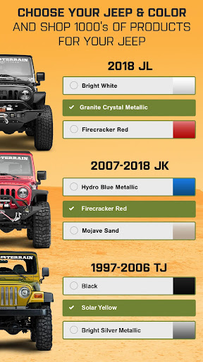 Jeep Wrangler Parts by ExtremeTerrain 2.2 screenshots 2