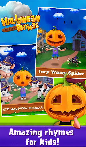 玩免費休閒APP|下載Halloween Kids Fun Rhymes app不用錢|硬是要APP